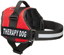 Load image into Gallery viewer, Therapy Dog Vest Harness, Service Dog Vest with 2 Reflective THERAPY DOG Patches, by Industrial Puppy