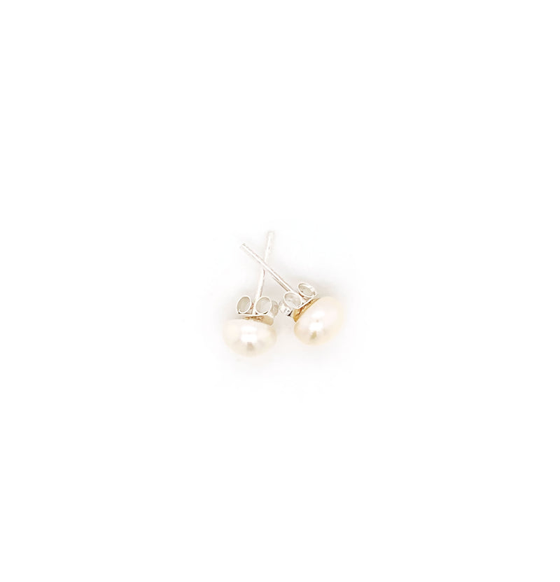 Freshwater Pearl Ball Studs