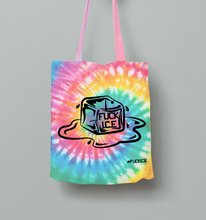 Load image into Gallery viewer, FUCK ICE BAG - Tie-Dye Rainbow