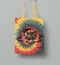 Load image into Gallery viewer, FUCK ICE BAG - Tie-Dye Red Black