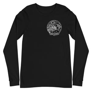 Open image in slideshow, The Cabin Long Sleeve T-Shirt