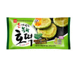 찹쌀녹차호떡 FROZEN SWEET RICE PANCAKE - GREEN TEA /180G(3PCS) *24    $67.2