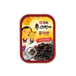 샘표 우리엄마 콩자반Canned Braised Black Beans in Soy Sauce(70g X 10 Steel Cans) X 3 Packs/Box