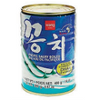 [왕] 꽁치통조림 CANNED PACIFIC SAURY(CUT)IN BRINE (KKONGCHI) 400G*24