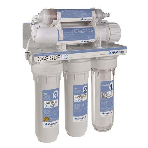 Oasis DP Underbench Reverse Osmosis RO Std with 16L Pressure Tank 189 LPD