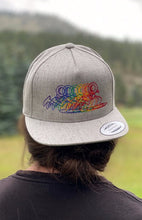 Load image into Gallery viewer, CalM Grey Snapback Hat