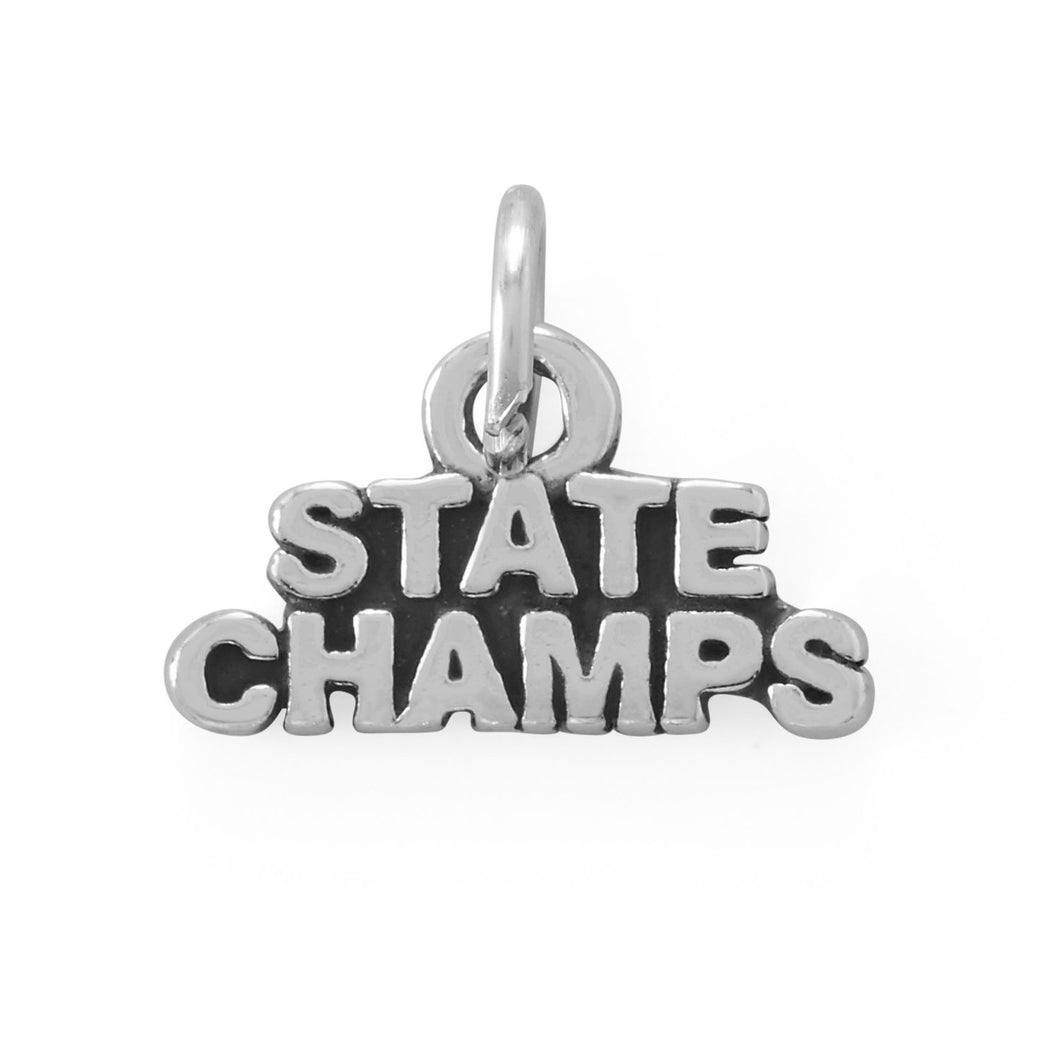 Go Team! Oxidized State Champs Charm