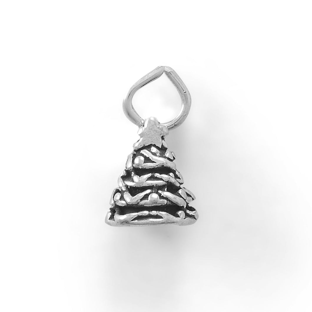 Gather Round The Holiday Tree Charm