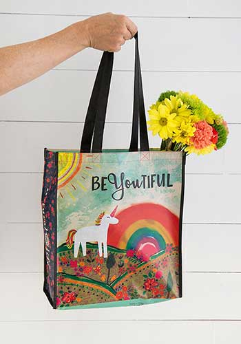 Unicorn beYOUtiful Gift Bag (XL) Recycled Bag