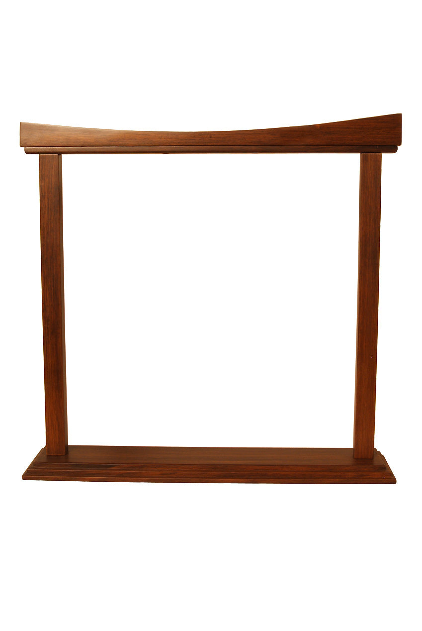 DOBANI Curved Sheesham Gong Stand 18 Inches