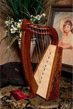 Load image into Gallery viewer, Roosebeck Lily Harp 8-String Knotwork