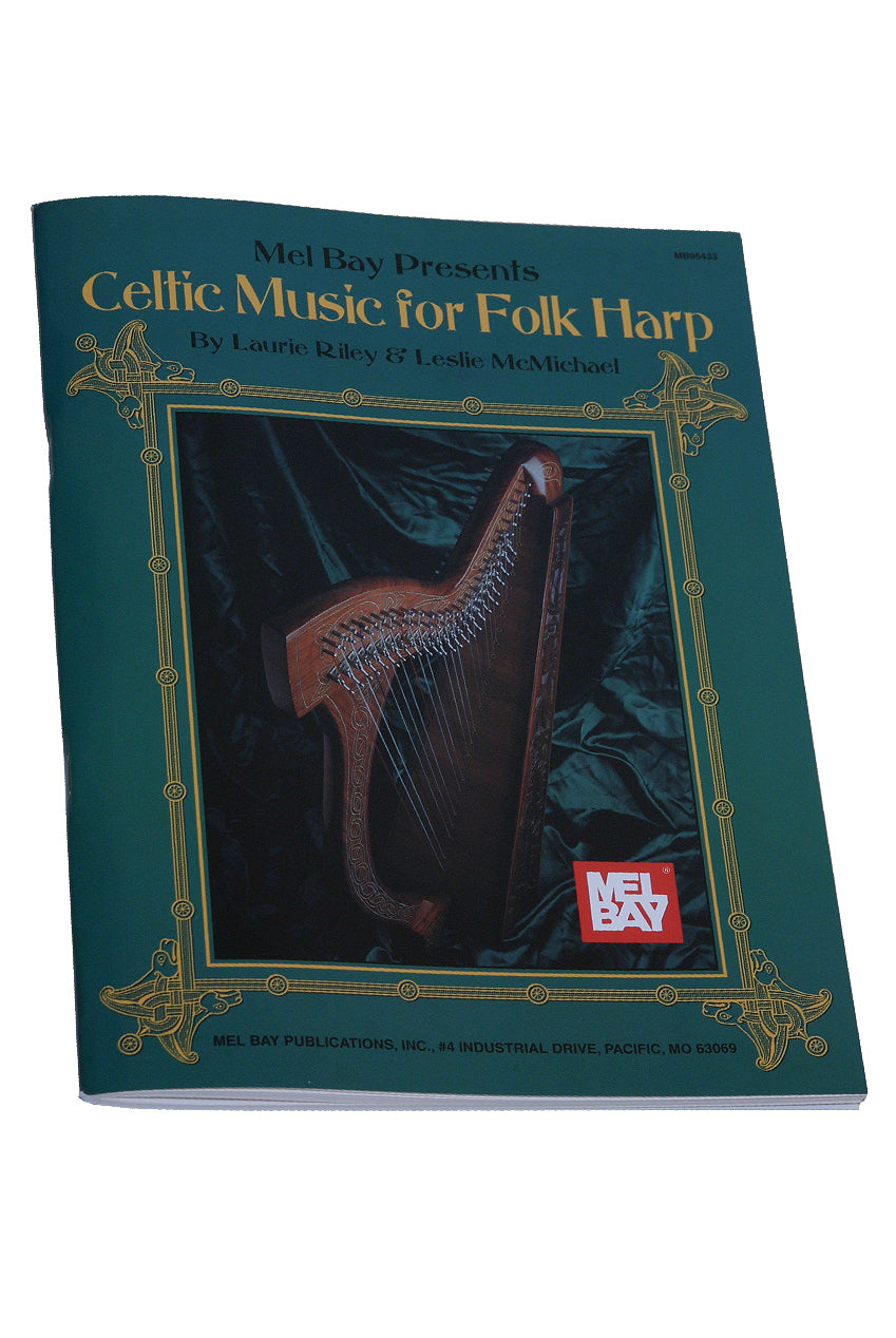 Mel Bay's Celtic Music for Folk Harp Book by Riley & McMichael