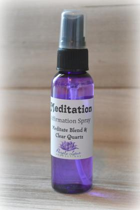 Affirmation Spray Meditation
