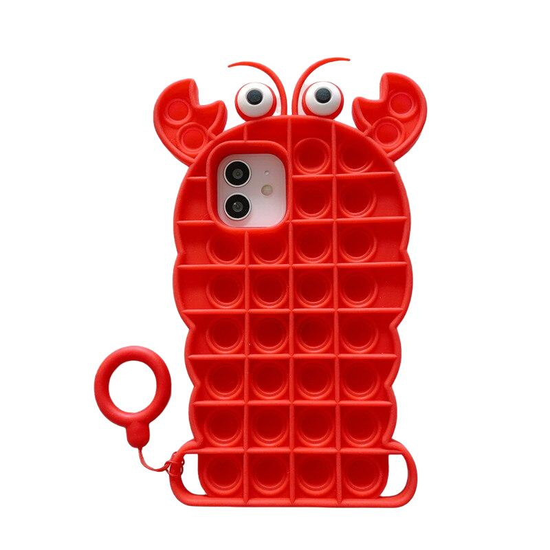 🔥40% OFF New Lobster Fidget Phone Case For Iphone