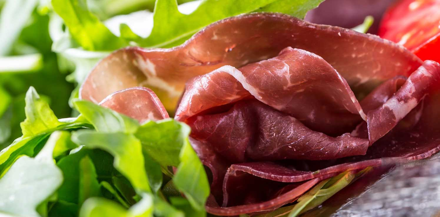 BRESAOLA – Home Cured Dried Beef Antipasto, with Rocket (Arugula) Recipe