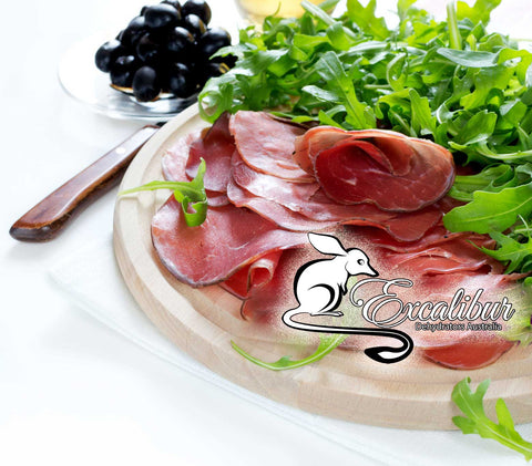 BRESAOLA – Home Cured Dried Beef Antipasto, with Rocket (Arugula)