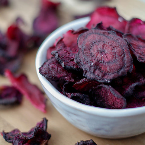 Rosemary Vinegar and Sea Salted Beet Chips Recipe