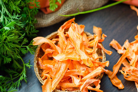 Some of the most MOREISH Dehydrated Vegetable Chip Recipes - Carrot Chips