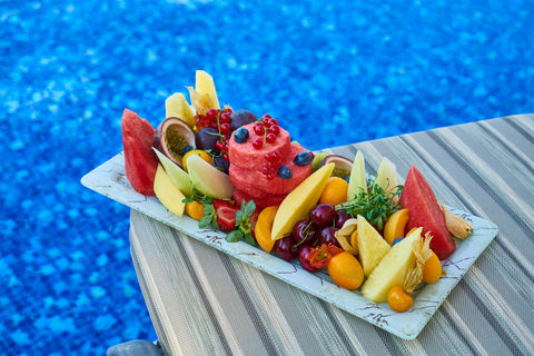 What images do you conjure up when you think of the summer months? Fruit!