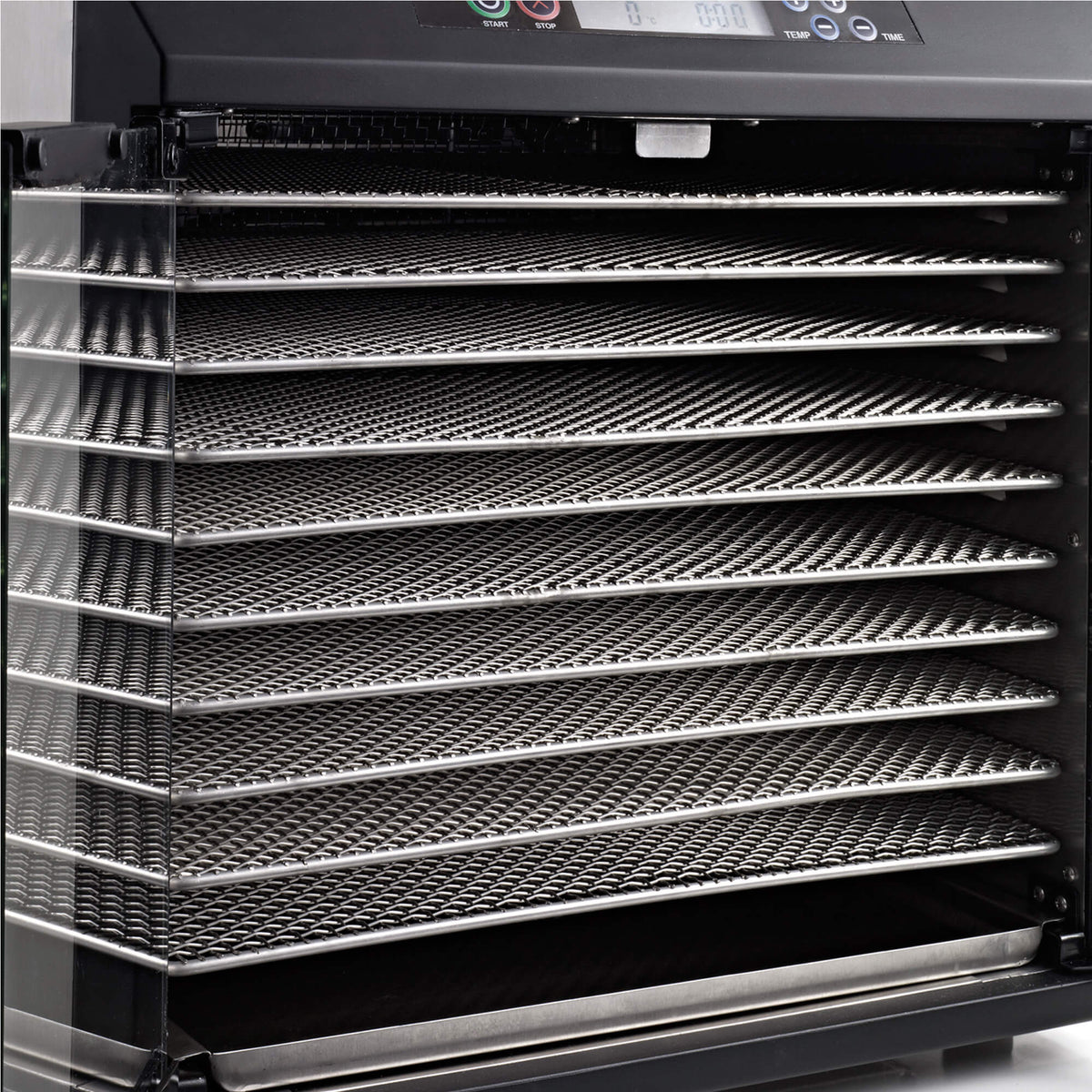 Excalibur EXC10EL 10 tray stainless steel digital dehydrator trays.