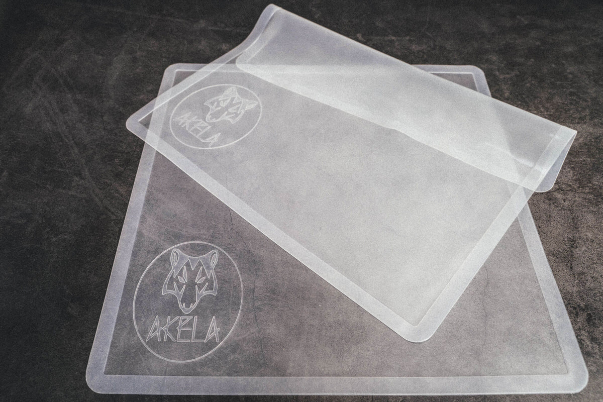 Akela Silicone Non-Stick Solid Dehydrator Drying Sheet - Pack of 3