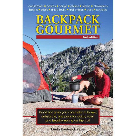 Backpack Gourmet front cover.