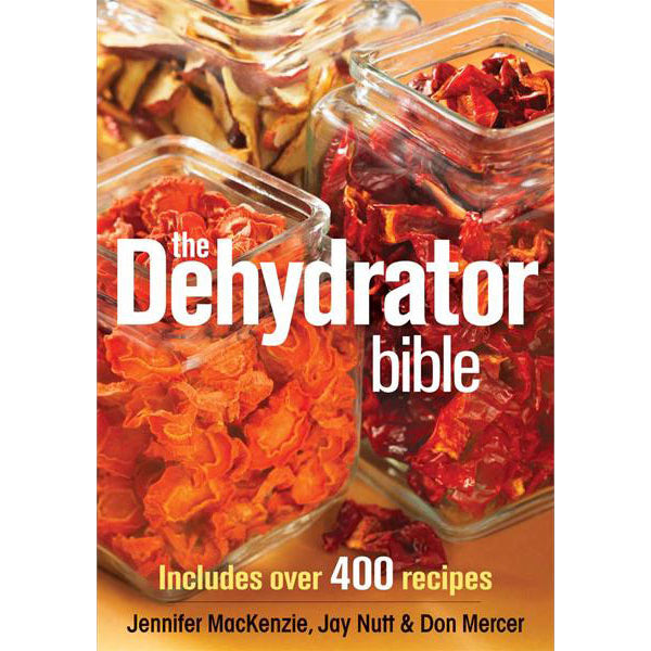 Dehydrator bible book front cover.
