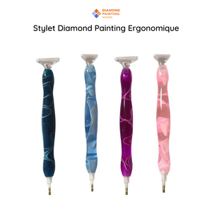 Stylet Diamond Painting Ergonomique