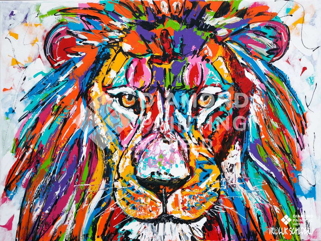 Lion | Exclusivité Diamond Painting Monde