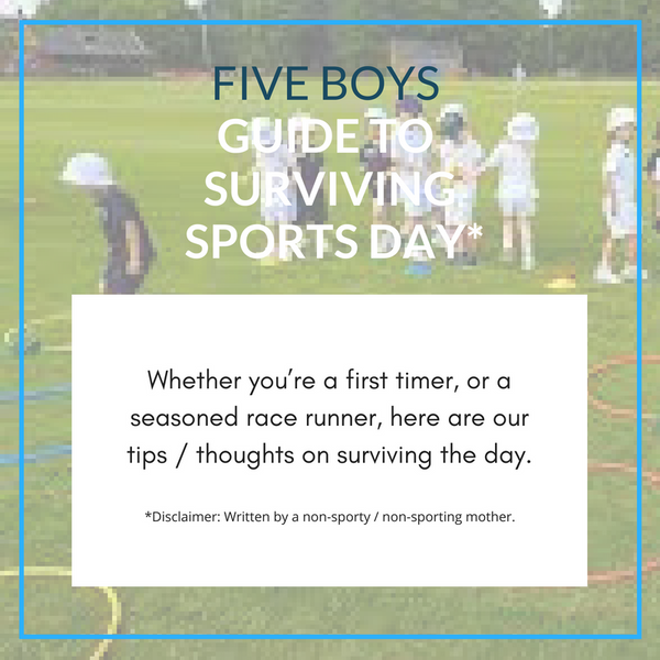 Guide To Surviving Sports Day