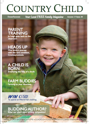 Fashion Trends For Little People in Country Child Magazine