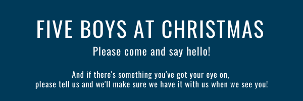Five Boys' Christmas Timetable 2019