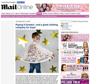Kick Starting October with a shout out on the Daily Mail Blog