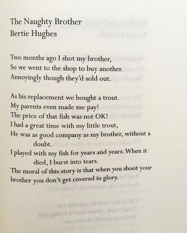 The Naughty Brother by Bertie Hughes