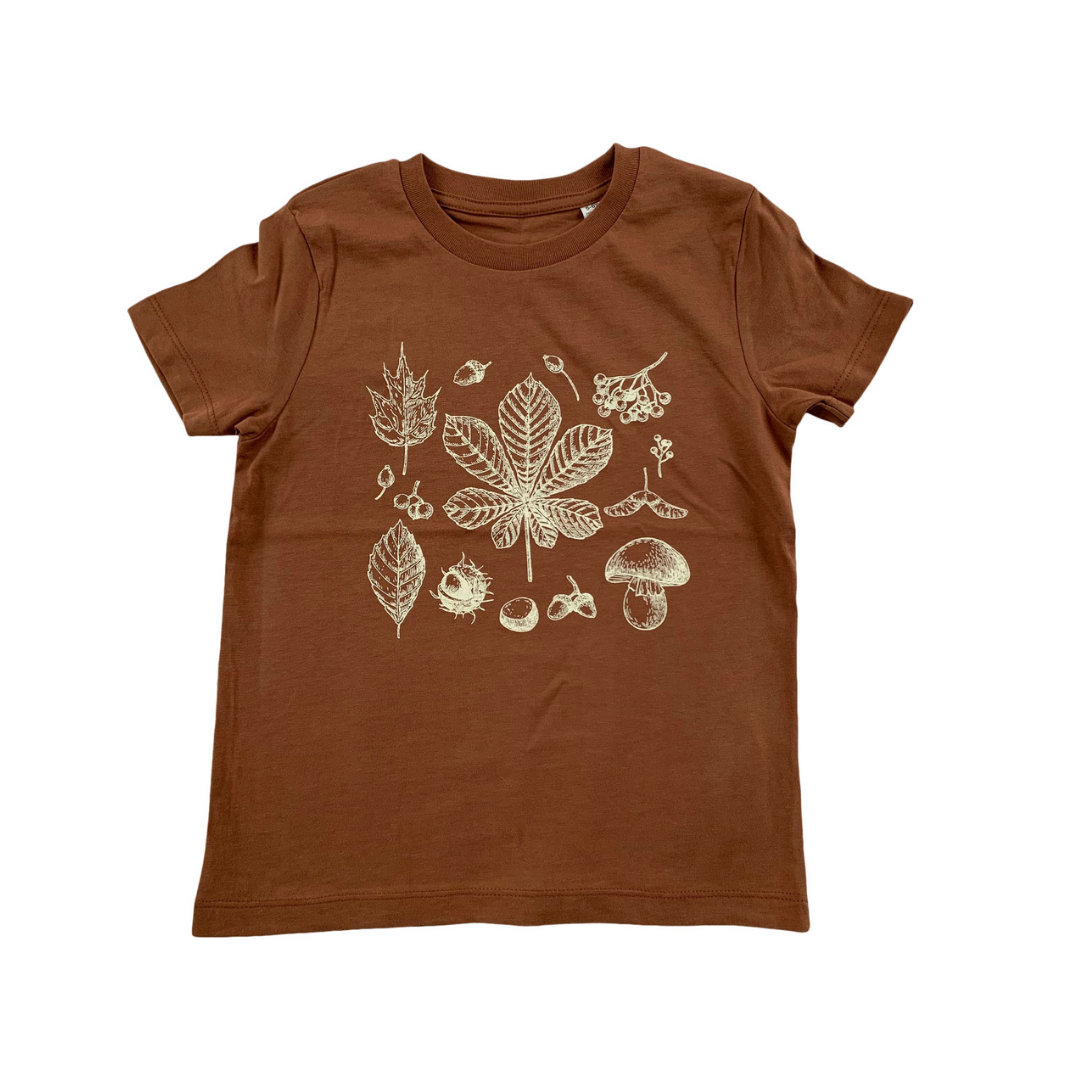 Autumn Forgaging Finds T-shirt