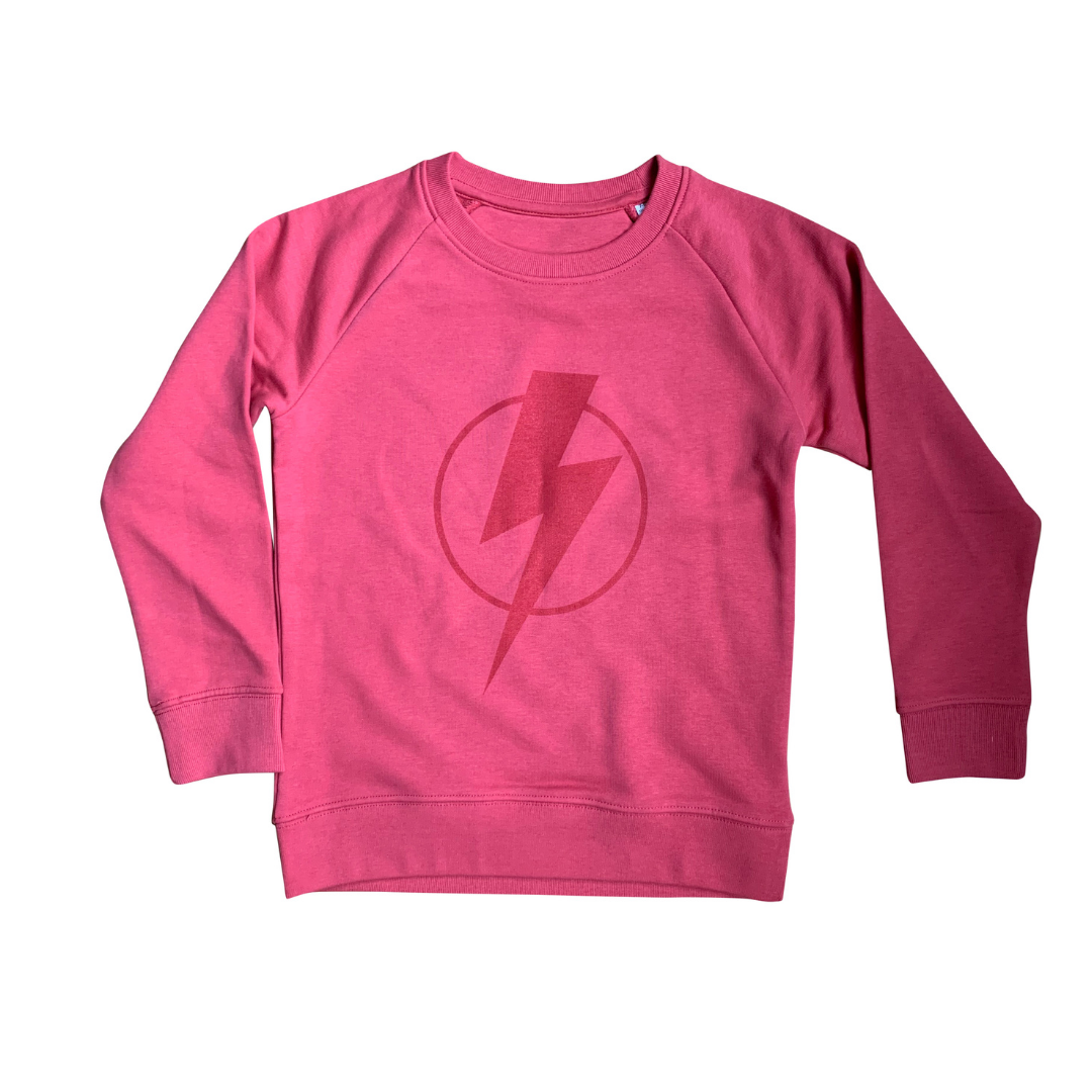 Red on Red Organic Flash Sweatshirt
