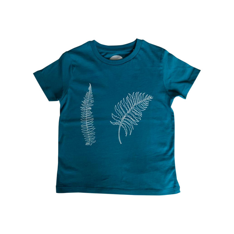 Fern Print T-shirt For Boys