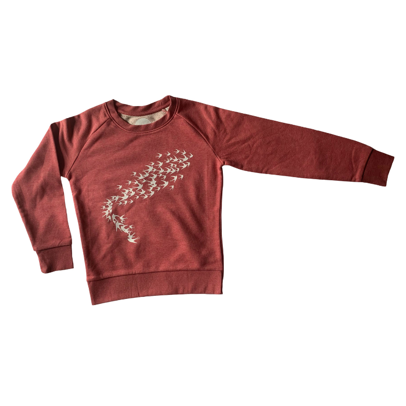 Swallow Print Children's Sweatshirt