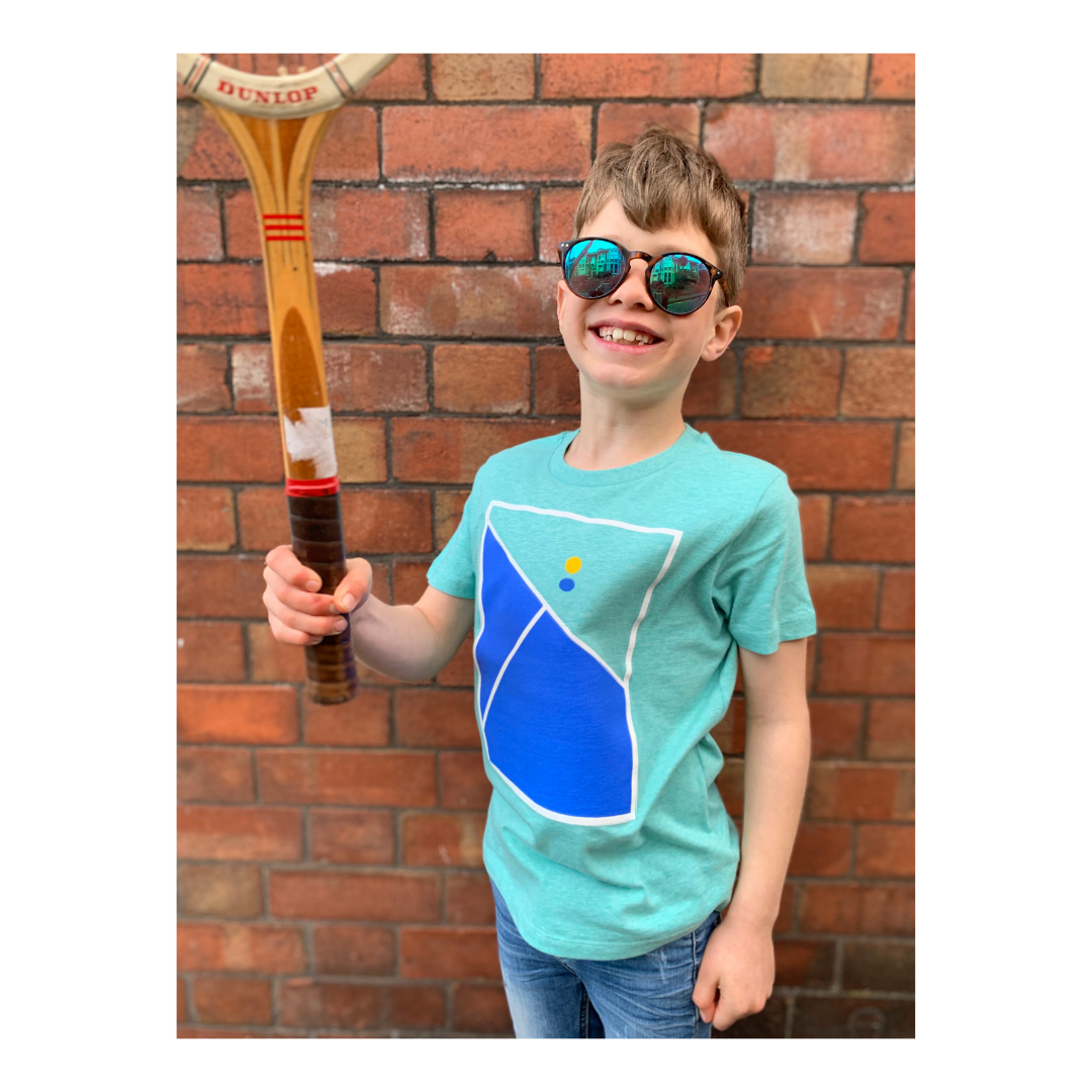 Tennis Print T-shirt for Kids