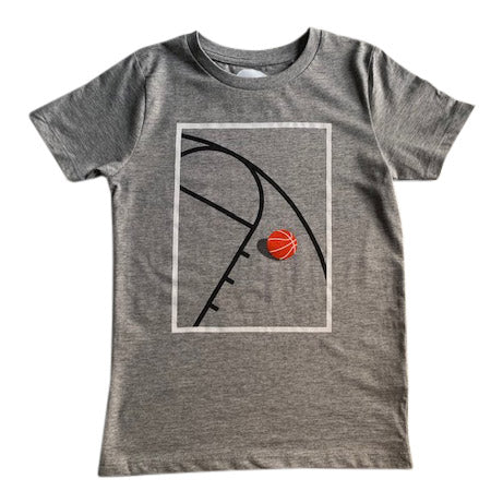 t-shirt for boys who love basketball