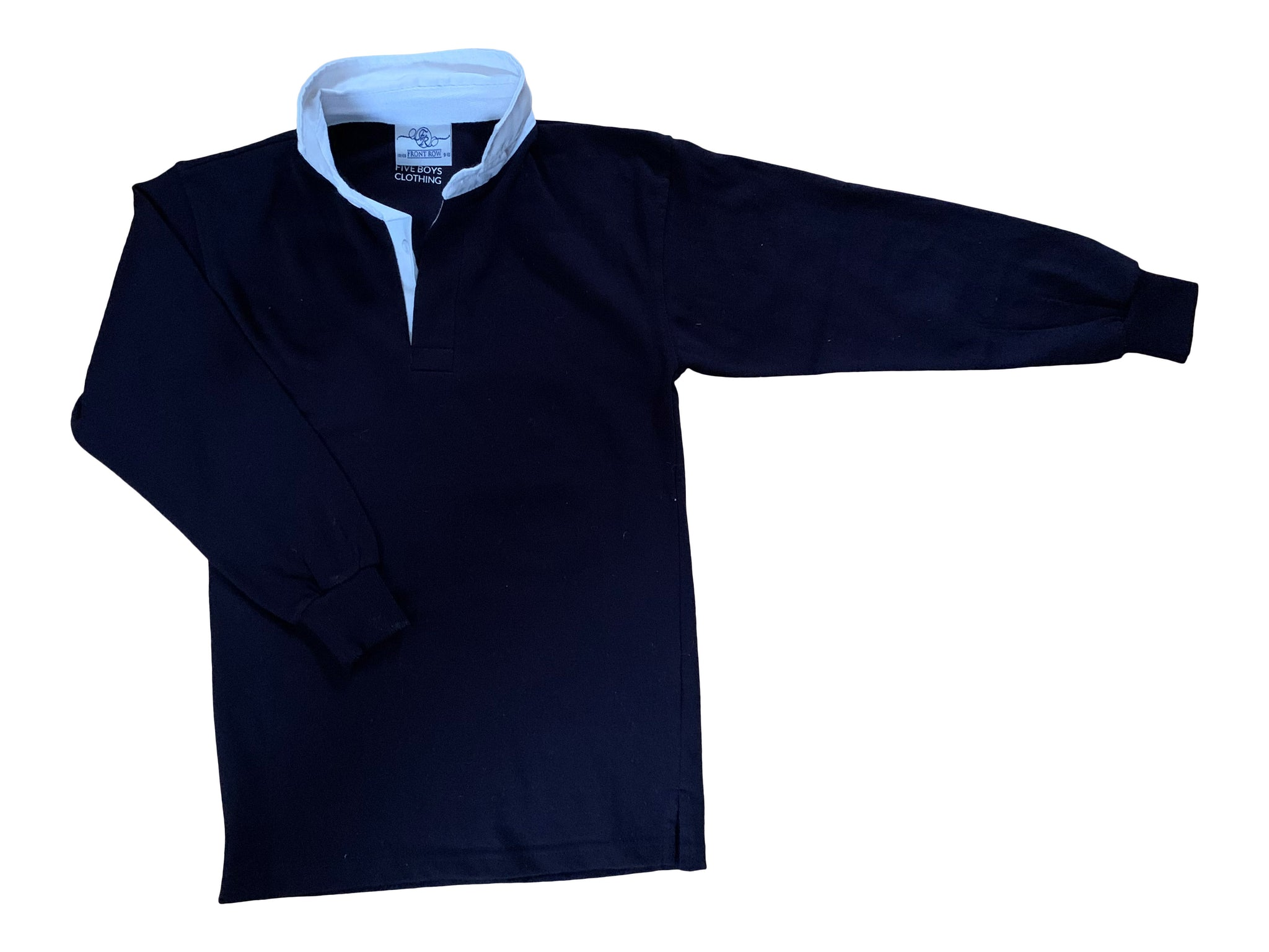 Rugby Shirt For Boys Navy