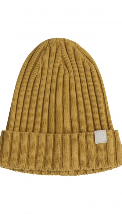 mustard ribbed beanie from i dig denim