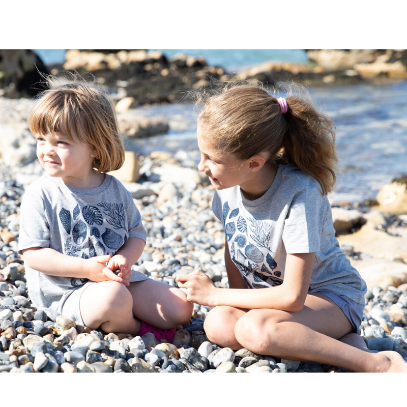 shell t-shirt for kids