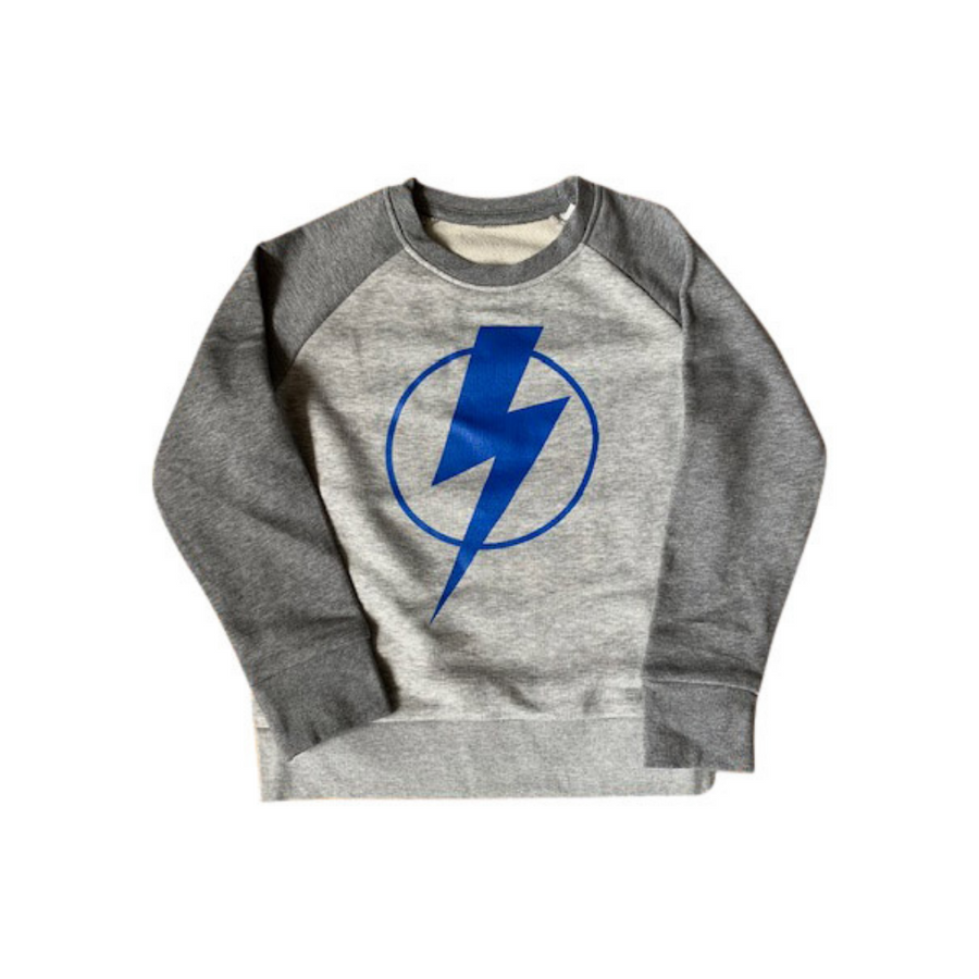 Flash super hero organic cotton sweatshirt age 4