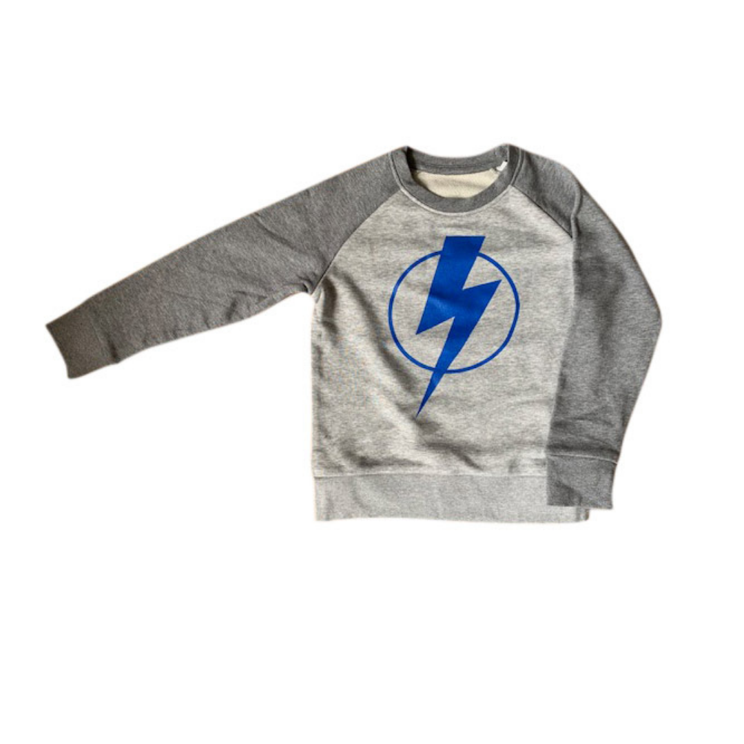 Flash super hero organic cotton sweatshirt