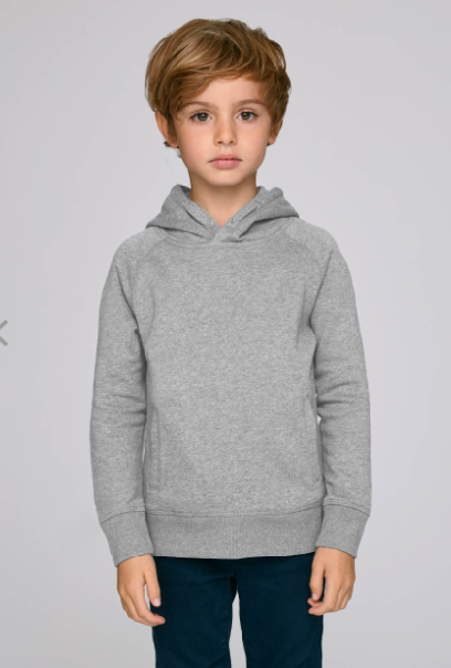 Cricket Print Boy's Sweatshirt with Hood