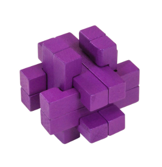 Colour Block Wooden Puzzle