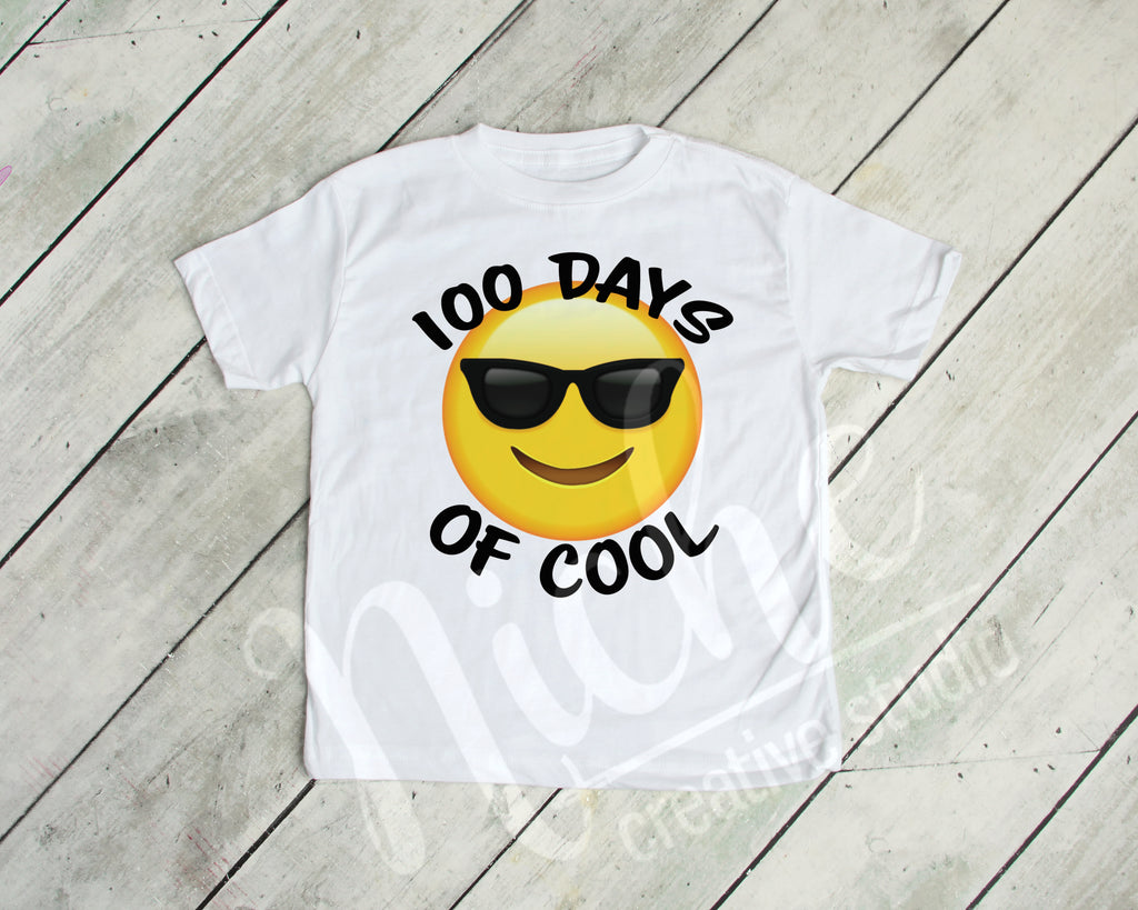 *100 Days Emoji Decal