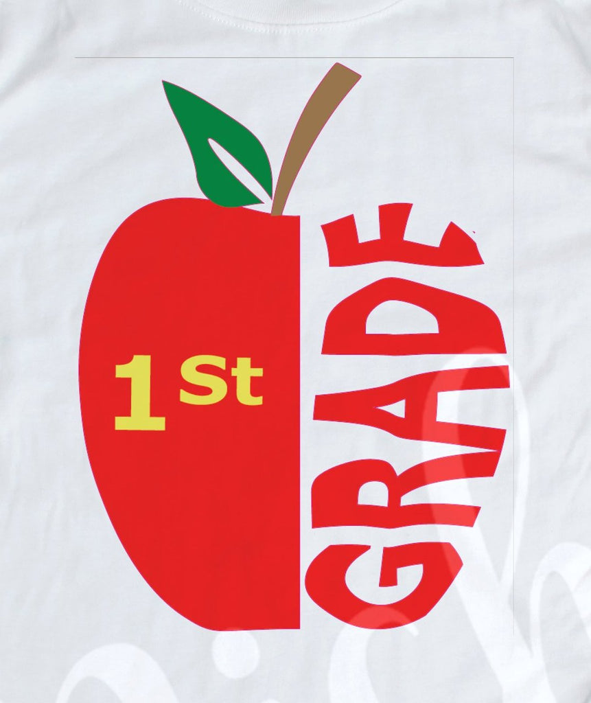 *1st Grade Apple Decal
