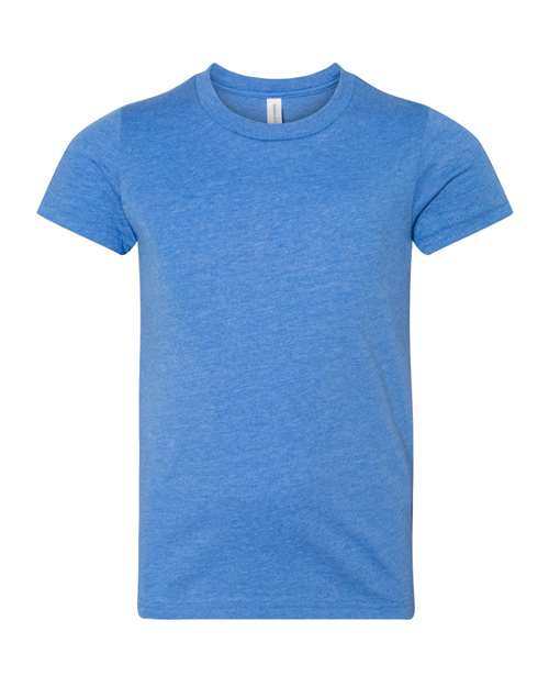 Bella Youth T-shirt - HEATHER COLUMBIA BLUE